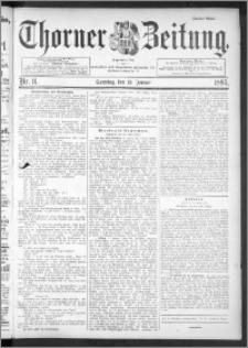Thorner Zeitung 1895, Nr. 11 Zweites Blatt