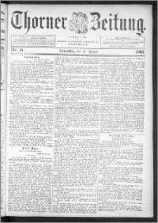 Thorner Zeitung 1895, Nr. 14