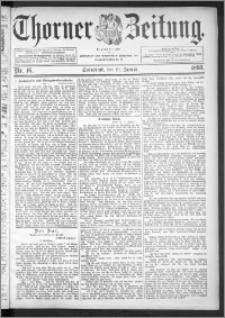Thorner Zeitung 1895, Nr. 16