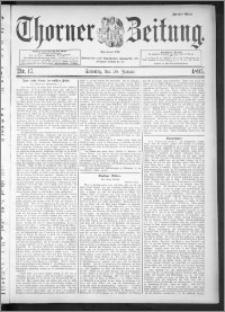 Thorner Zeitung 1895, Nr. 17 Zweites Blatt