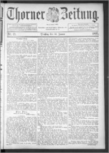 Thorner Zeitung 1895, Nr. 18