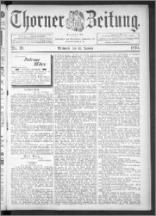Thorner Zeitung 1895, Nr. 19