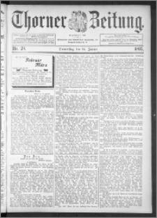 Thorner Zeitung 1895, Nr. 20