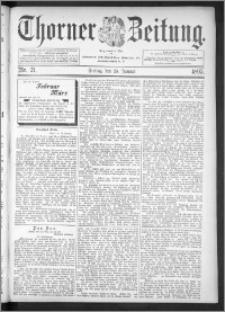 Thorner Zeitung 1895, Nr. 21