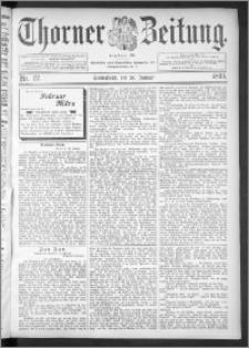 Thorner Zeitung 1895, Nr. 22