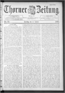 Thorner Zeitung 1895, Nr. 23 Zweites Blatt