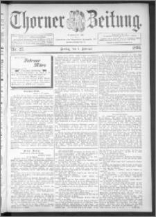 Thorner Zeitung 1895, Nr. 27