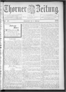 Thorner Zeitung 1895, Nr. 28 + Extra-Beilage