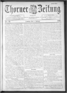 Thorner Zeitung 1895, Nr. 29 Zweites Blatt