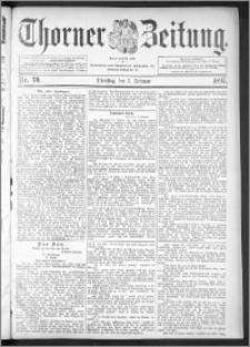 Thorner Zeitung 1895, Nr. 30