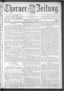 Thorner Zeitung 1895, Nr. 31