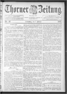 Thorner Zeitung 1895, Nr. 32