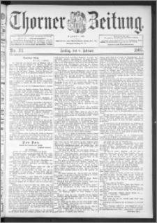Thorner Zeitung 1895, Nr. 33
