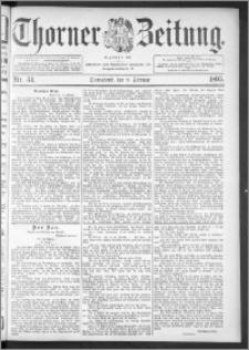 Thorner Zeitung 1895, Nr. 34