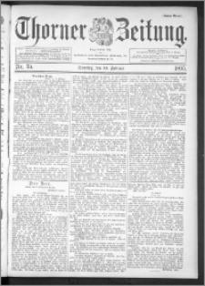 Thorner Zeitung 1895, Nr. 35 Erstes Blatt