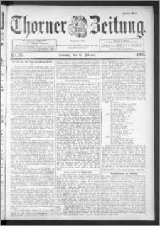 Thorner Zeitung 1895, Nr. 35 Zweites Blatt