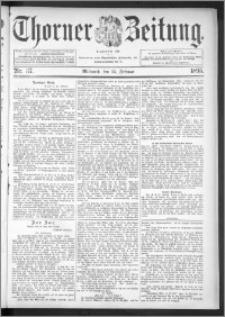 Thorner Zeitung 1895, Nr. 37