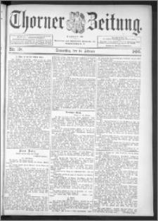 Thorner Zeitung 1895, Nr. 38
