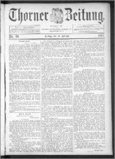 Thorner Zeitung 1895, Nr. 39