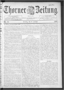 Thorner Zeitung 1895, Nr. 41 Zweites Blatt