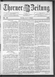 Thorner Zeitung 1895, Nr. 42
