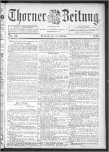 Thorner Zeitung 1895, Nr. 43