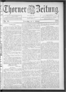 Thorner Zeitung 1895, Nr. 44