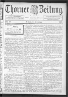 Thorner Zeitung 1895, Nr. 49
