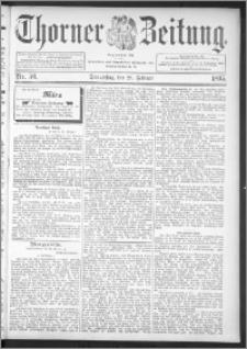 Thorner Zeitung 1895, Nr. 50