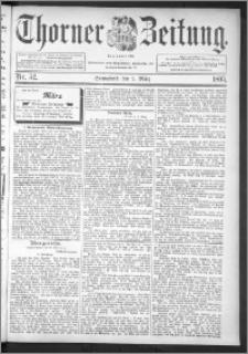 Thorner Zeitung 1895, Nr. 52