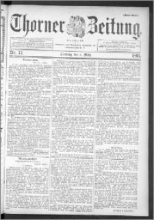 Thorner Zeitung 1895, Nr. 53 Erstes Blatt