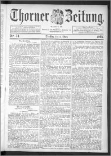 Thorner Zeitung 1895, Nr. 54
