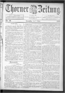 Thorner Zeitung 1895, Nr. 56