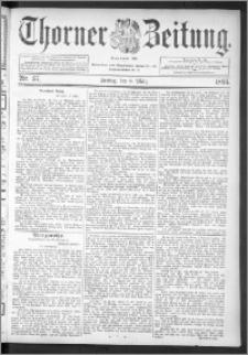 Thorner Zeitung 1895, Nr. 57