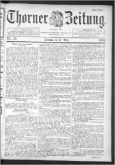 Thorner Zeitung 1895, Nr. 59 Erstes Blatt