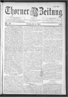 Thorner Zeitung 1895, Nr. 59 Zweites Blatt