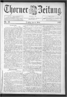 Thorner Zeitung 1895, Nr. 60 + Extra-Beilage