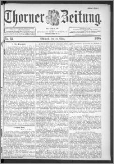 Thorner Zeitung 1895, Nr. 61 Erstes Blatt