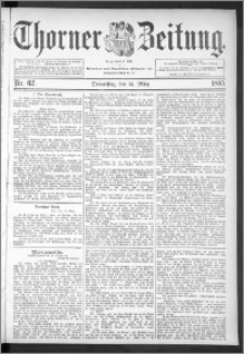 Thorner Zeitung 1895, Nr. 62