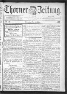 Thorner Zeitung 1895, Nr. 64