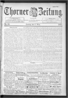 Thorner Zeitung 1895, Nr. 65 Zweites Blatt