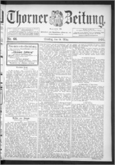 Thorner Zeitung 1895, Nr. 66