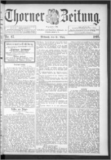 Thorner Zeitung 1895, Nr. 67