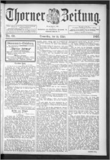Thorner Zeitung 1895, Nr. 68
