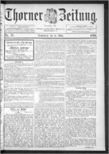 Thorner Zeitung 1895, Nr. 70