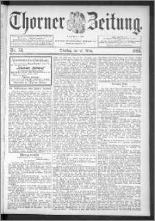 Thorner Zeitung 1895, Nr. 73