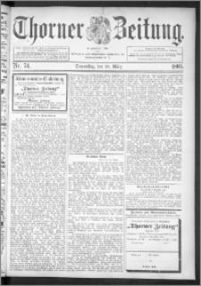 Thorner Zeitung 1895, Nr. 74