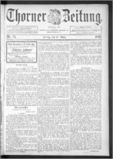 Thorner Zeitung 1895, Nr. 75