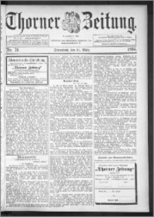 Thorner Zeitung 1895, Nr. 76