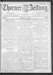 Thorner Zeitung 1895, Nr. 77 Zweites Blatt